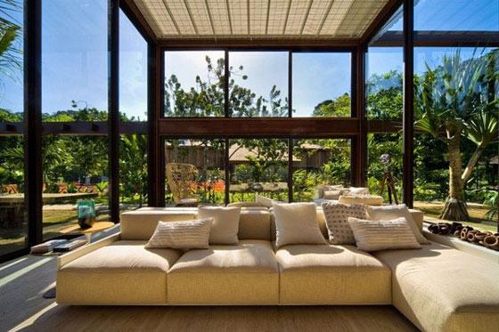Serra bioclimatica giardino d inverno roma lazio for Interiores casas de lujo
