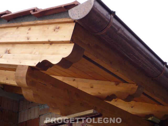 Copertura In Legno Lamellare : Tetto in legno lamellare lariano roma progetto legno