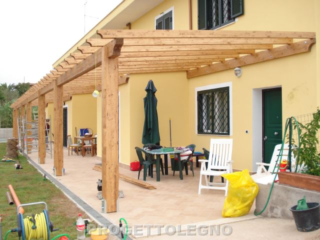 Prezzi pergolati in legno lamellare for Lamellare prezzi
