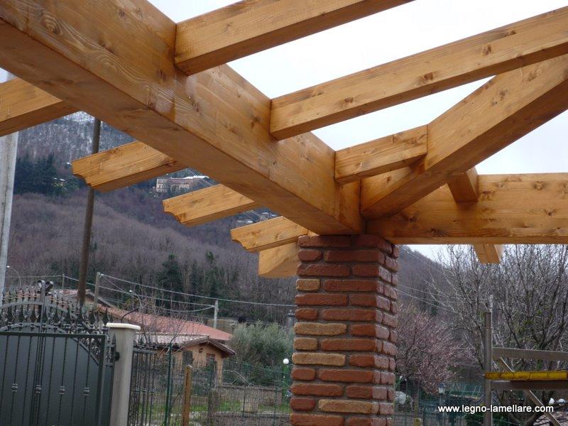 Giardino d inverno in legno idee per il design della casa for Lamellare prezzi